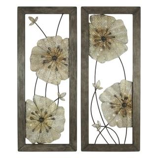 Marla Flower Wall Decor (Set of 2)