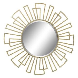 Penelope Gold Iron Wall Mirror