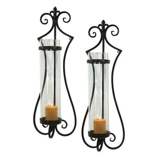 Rhodes Candle Wall Sconce (Set of 2)