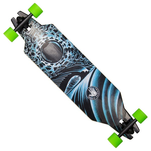 Body Glove Freerider Free Ride Style Slot Through Performance 36-inch Longboard Skateboard