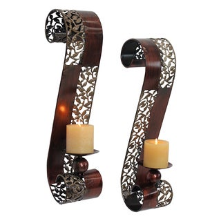 Trish Candle Wall Sconce (Set of 2)