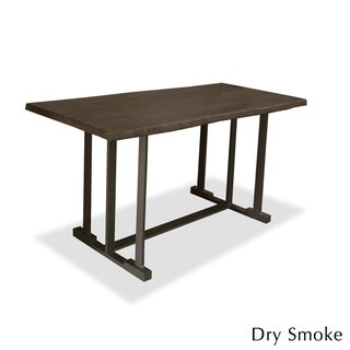 Catalina Wrought Iron and Hardwood Counter or Bar Height Dining Table