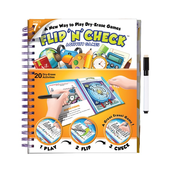 Flip 'N' Check Activity Book