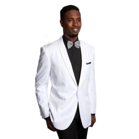 Tazio Men's White Jacket