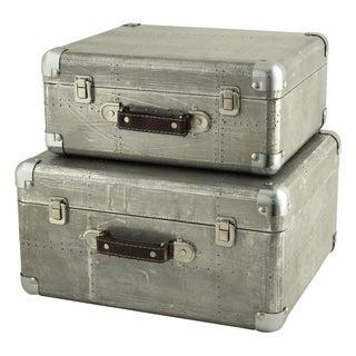 Hagen Suitcase Trunks (Set of 2)