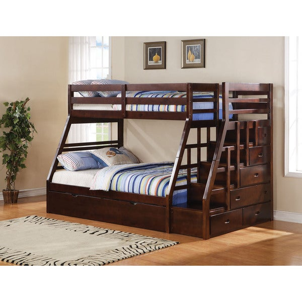 Shop Acme Furniture Jason Twin Over Full Bunk Bed With Storage