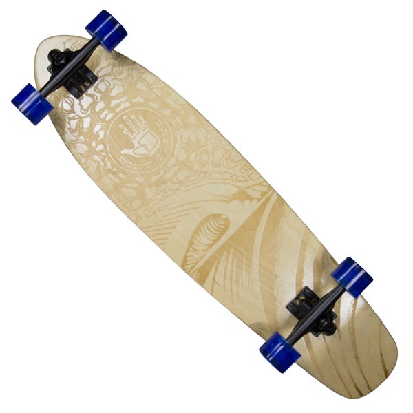 Body Glove Laser-etched 'Laser Wave' High-performance 34-inch Longboard Skateboard