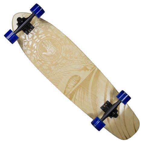 Body Glove Laser-etched 'Laser Wave' High-performance 34-inch Longboard Skateboard