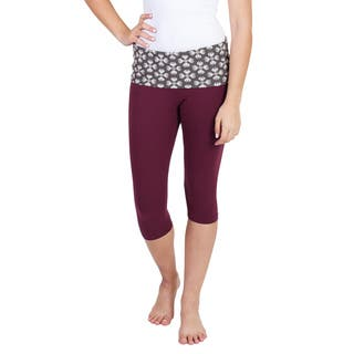Handmade Women's Native Print Capri Workout Yoga Pants (Nepal) https://ak1.ostkcdn.com/images/products/14370330/P20944434.jpg?impolicy=medium