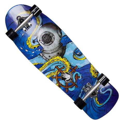 Body Glove 'Offshore Octo' 32-inch High Performance Longboard Cruiser Skateboard
