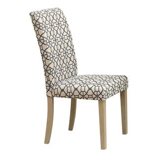 Acme Furniture Glassden Fabric, Wood Dining Chairs (Set of 2)
