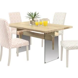 Acme Furniture Glassden Oak Dining Table