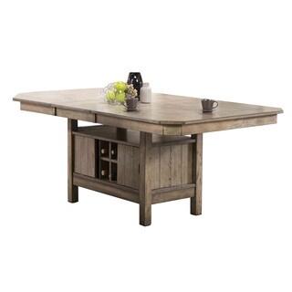 Acme Furniture Ramona Oak Wood Veneer Dining Table