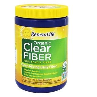 Renew Life Organic 9.5-ounce Clear Fiber