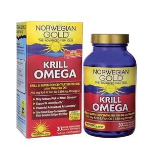 Renew Life Norwegian Gold Krill Omega (30 Softgels)
