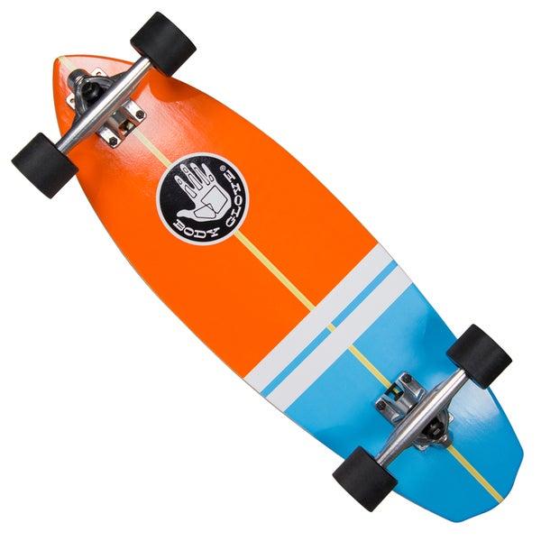 Body Glove 'Surfslide' 28-inch High-performance Longboard Cruiser Skateboard