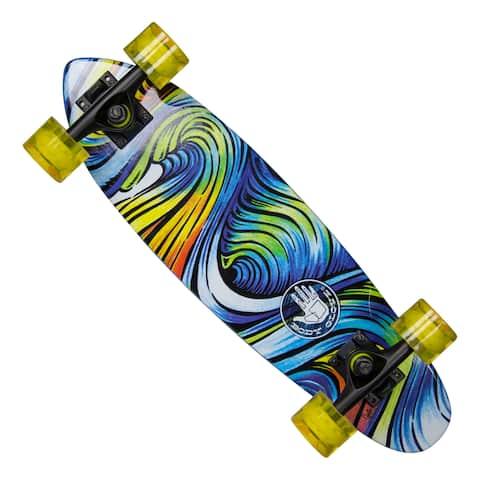 Body Glove 'Surf Trip' Multicolored Hardwood 24-inch Cruiser Skateboard