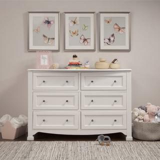Link to DaVinci Kalani 6 Drawer Double Wide Dresser, KD Similar Items in Kids' & Toddler Furniture