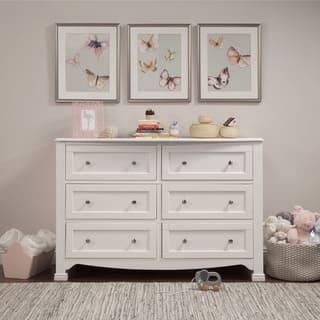 DaVinci Kalani 6 Drawer Double Wide Dresser  KD. Baby Furniture For Less   Overstock com