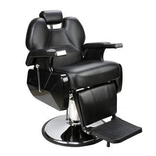 BarberPub Deluxe Hydraulic Recline Black Barber and Salon Chair|https://ak1.ostkcdn.com/images/products/14370682/P20944737.jpg?impolicy=medium