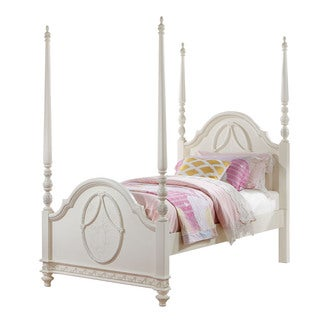 Acme Furniture Dorothy Bed, Ivory