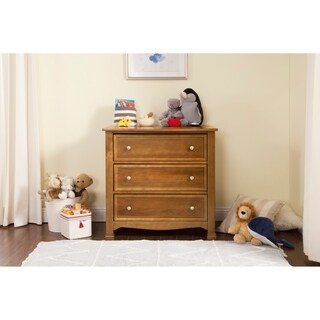 DaVinci Kalani Wood Traditional 3-drawer Dresser