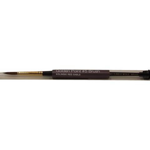 OPI Kolinski Golden Point Brush