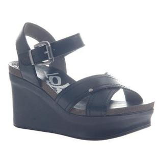 Women's OTBT Bee Cave Black Leather