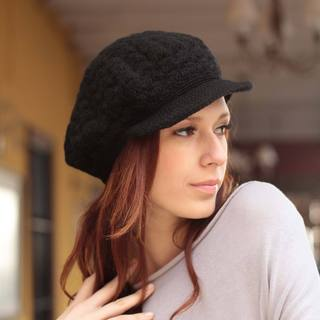 Handmade Alpaca 'Licorice Cap' Hat (Peru)