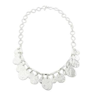 Handcrafted Sterling Silver 'Grand Taxco' Necklace (Mexico)