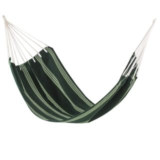 Handmade 'Laurel Green' Hammock (Single) (Guatemala)
