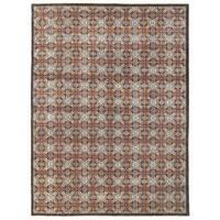 Handmade Herat Oriental Afghan Vegetable Dye Khotan Wool Rug - 9'10 x 13'6 (Afghanistan)