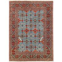 Herat Oriental Afghan Hand-knotted Vegetable Dye William Morris Wool Rug - 5'9 x 7'11