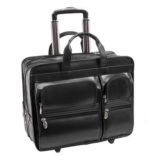 McKlein USA Tribeca Rolling 15.6-inch Laptop and Tablet Case