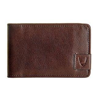 Hidesign Vespucci Brown Buffalo Leather Slim Card Holder