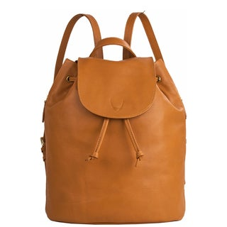 Hidesign Leah Brown Leather Fashion Backpack