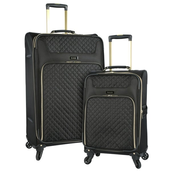 c764d844018c Shop Kensie 2-piece Softside Expandable Dual-Spinner Luggage Set ...