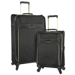 Kensie 2-piece Softside Expandable Dual-Spinner Luggage Set