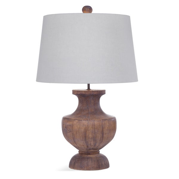 Stella 30-inch Brown Glass Table Lamp