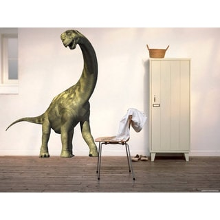 Full Color Dinosaur Full Color Decal, Diplodocus Full color sticker, wall art Sticker Decal size 22x35