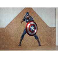 Full Color Captain America Full Color Decal, Captain America Full Color Sticker, Sticker Decal size 48x65