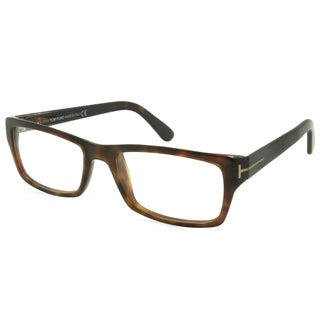 Tom Ford Readers - TF5239-052-54-100 Havana 54 mm Rectangle Reading Glasses