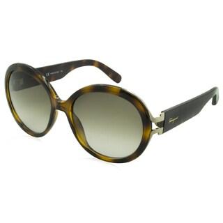 Ferragamo Sunglasses - SF780S / Frame: Havana Lens: Brown Gradient
