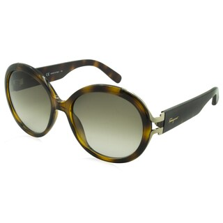 Ferragamo Sunglasses - SF780S / Frame: Havana Lens: Brown Gradient