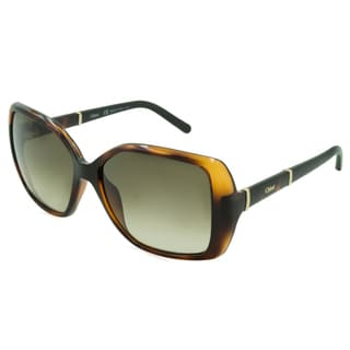 Chloe Sunglasses - CE680S / Frame: Tortoise with Brown Temples Lens: Brown Gradient