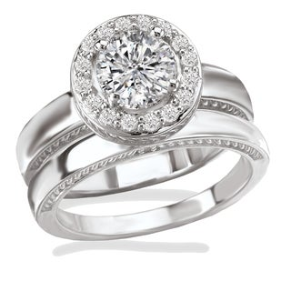 womens wedding bands bridal jewelry sets - Platinum Wedding Ring Sets