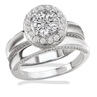engagement rings bridal jewelry sets - Vintage Wedding Rings Sets