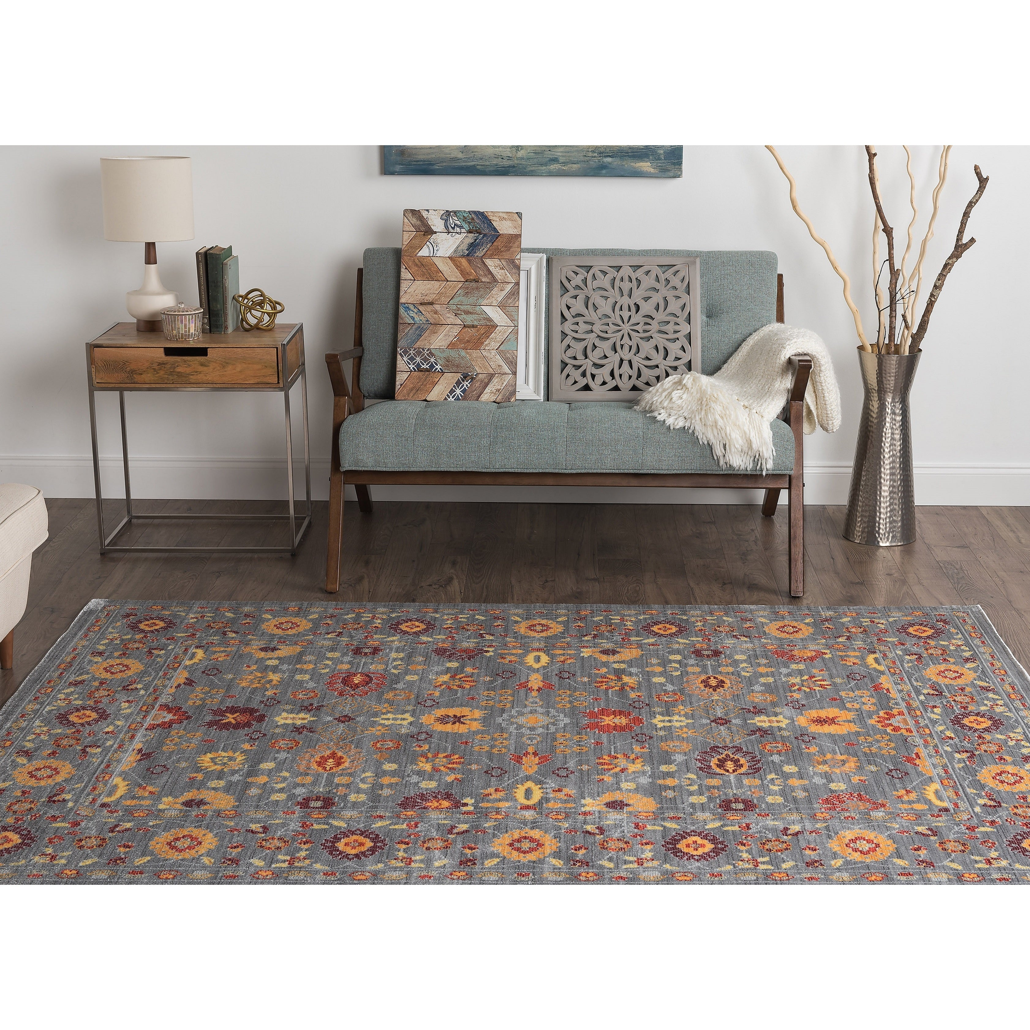 Alise Rugs Heritance Spice Traditional Area Rug (3'11 x 6...