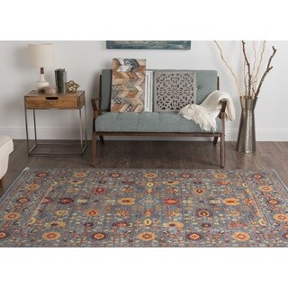 Alise Rugs Heritance Spice Traditional Area Rug (3'11 x 6')