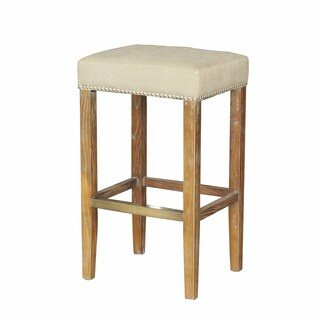 Belham Louis French Tufted Handcrafted Bar Stool